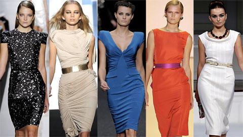 модные платья Лето 2013