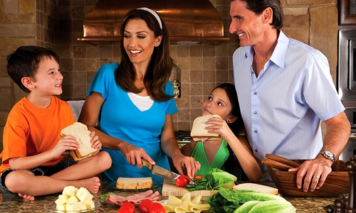 Веселые выходные вместе с семьей